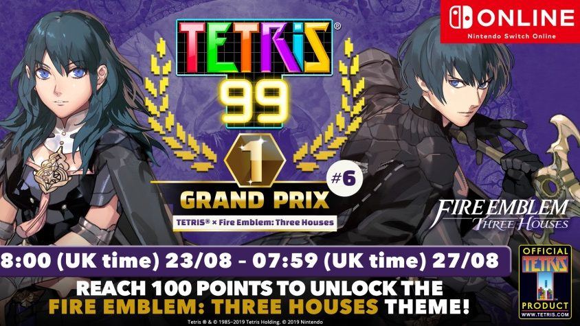 Tetris 99's Next Grand Prix Lets You Unlock a Fire Emblem
