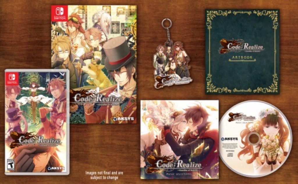The first of many Otome visual novels from Aksys Games for Nintendo Switch releases this February.