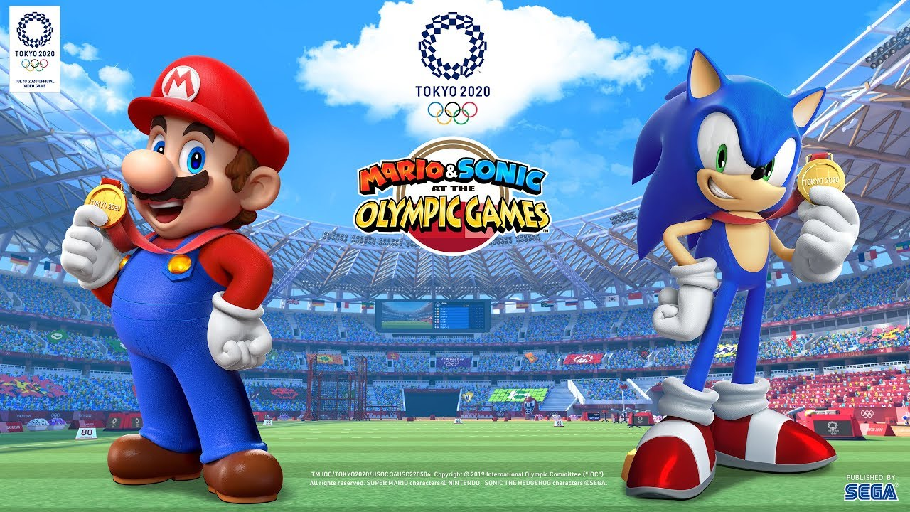 Here S Every 2d And 3d Event In Mario And Sonic At The Olympic