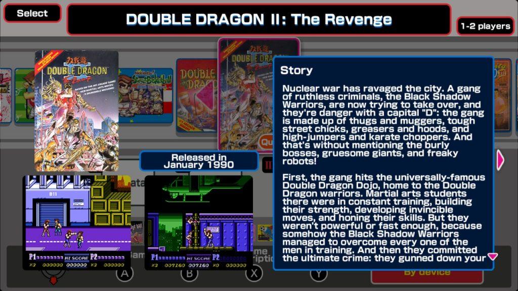 Double Dragon And Kunio Kun Retro Brawler Bundle Nintendo Switch Review The Mako Reactor