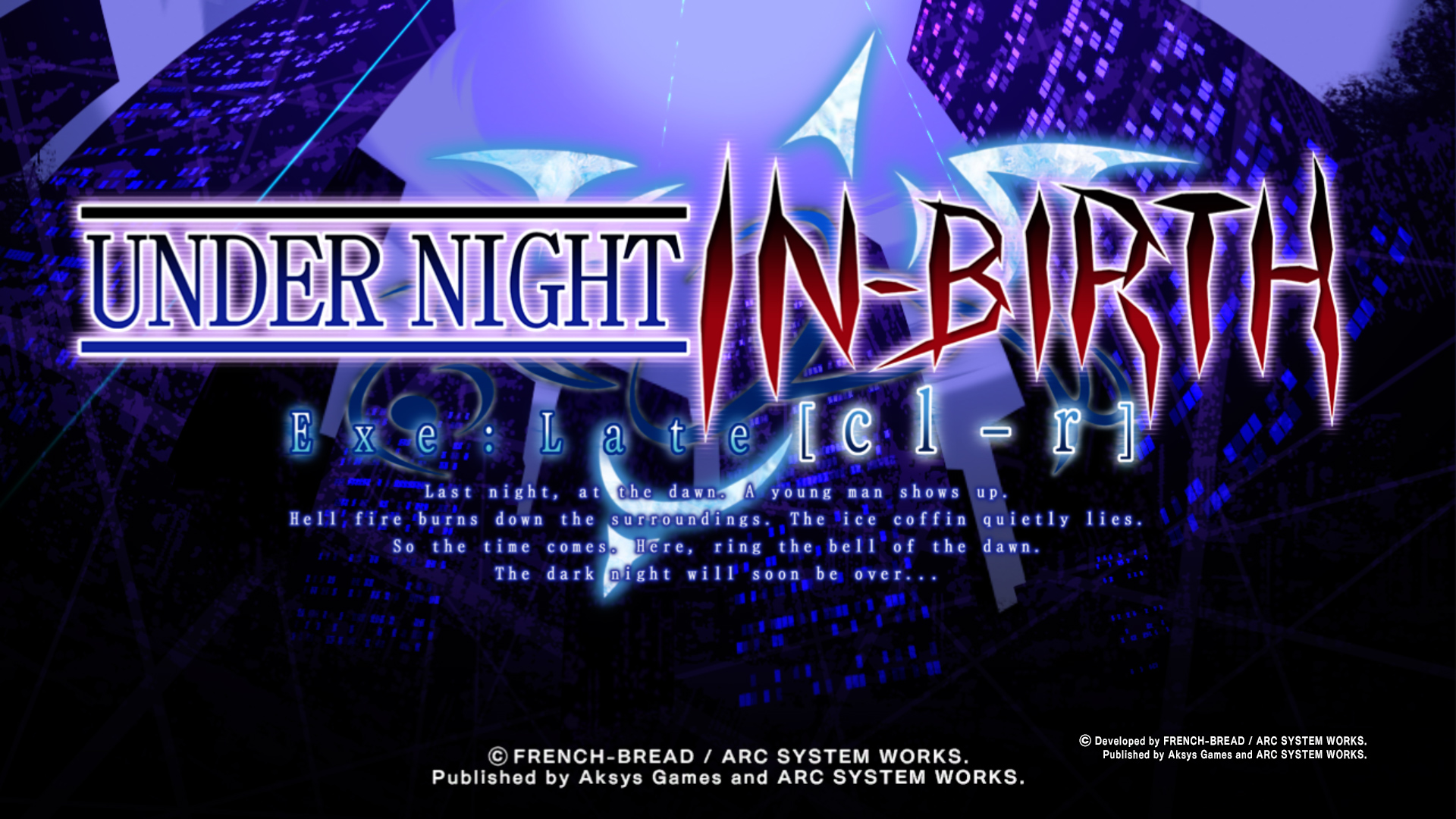 Under Night In Birth Exe Late Cl R Ps4 Vs Nintendo Switch What