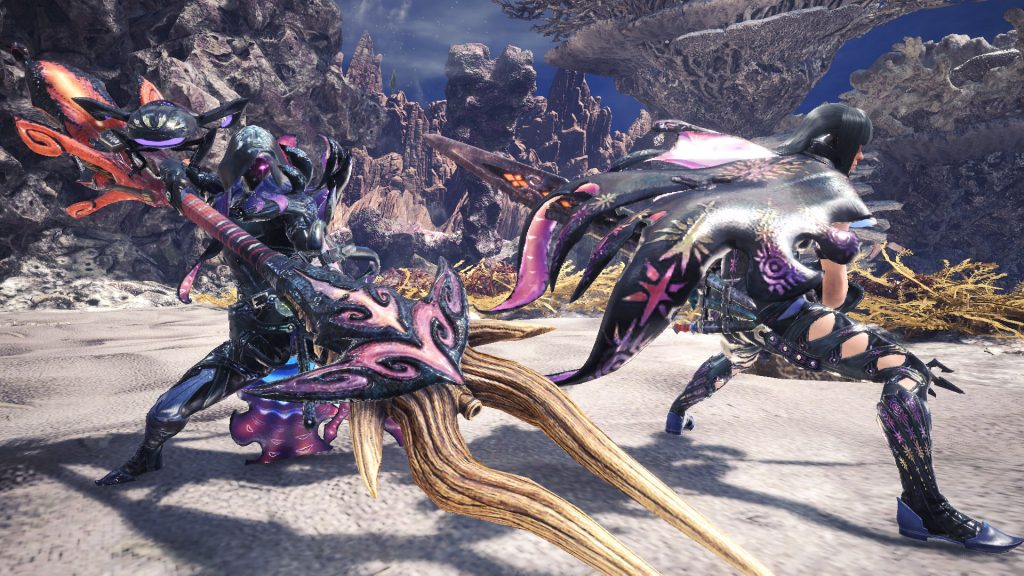 Monster Hunter World Iceborne The Distant Dark Tide Arch Tempered Namielle Event Quest Full Guide The Mako Reactor Danielle armour is on facebook. iceborne the distant dark tide arch